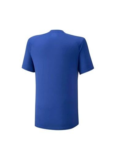 Mizuno Shadow Polo Erkek T-shirt Mavi Mavi